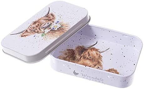 Wrendale Designs 'Daisy Coo'Highland Cow Keepsake Mini Gift Tin - Hothouse