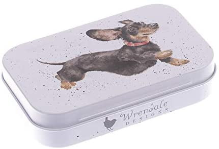 Wrendale Designs 'That Friday Feeling' Dachshund Keepsake Mini Gift Tin - Hothouse