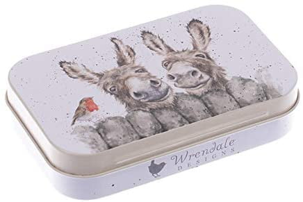 Wrendale Designs 'Hee Haw' Donkey Keepsake Mini Gift Tin - Hothouse