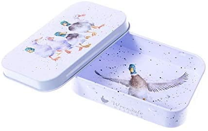 Wrendale Designs 'Quackers' Ducks Keepsake Mini Gift Tin - Hothouse