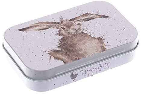 Wrendale Designs 'Hare-Brained' Keepsake Mini Gift Tin - Hothouse