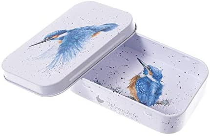 Wrendale Designs 'Make a Splash' Kingfisher Keepsake Mini Gift Tin - Hothouse