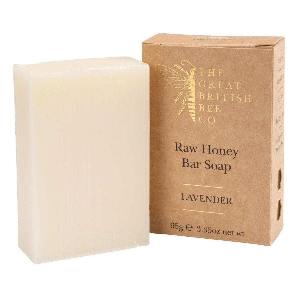 The Great British Bee Co. - Raw Honey Soap Bar 95G - Lavender