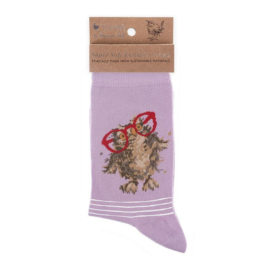 Wrendale Designs 'Spectacular' Owl Bamboo Socks