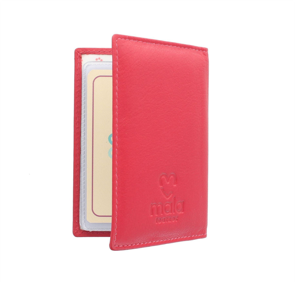 Mala Leather Lucy RFID Card Holder (583 30) - available in several colours - Hothouse
