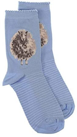 Wrendale Designs 'The Woolly Jumper' Sheep Bamboo Socks - Hothouse