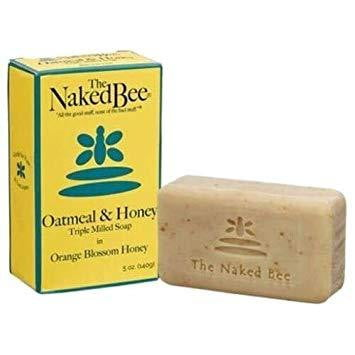 The Naked Bee - Oatmeal Oatmeal & Honey Triple Milled Soap - 140g - Hothouse