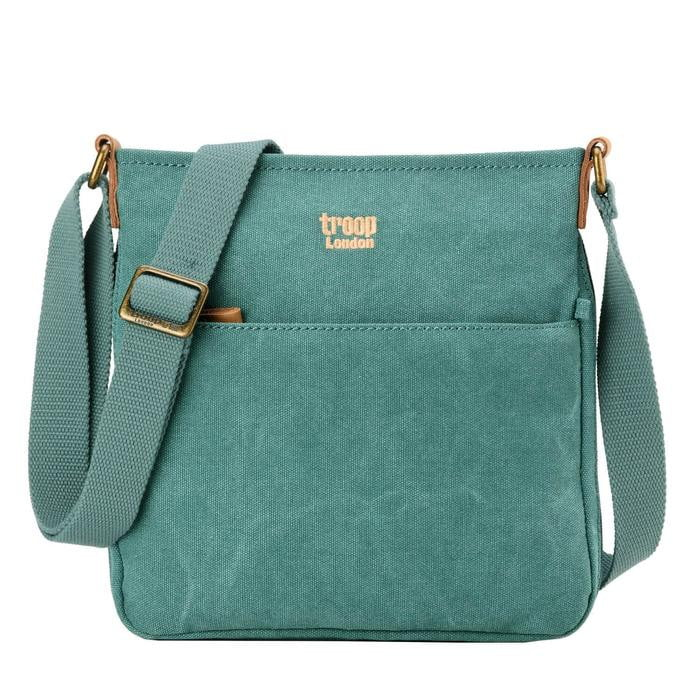 Troop London Classic Canvas Cross Body Bag - TRP0237 - Hothouse