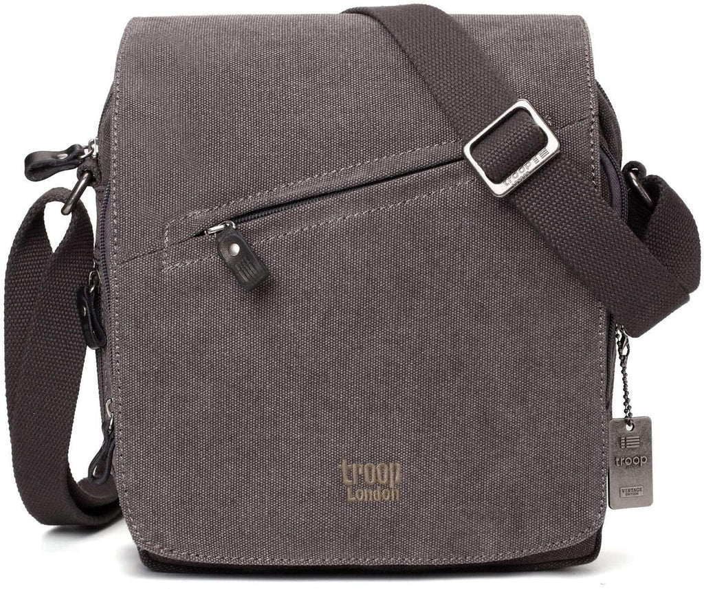 Troop London Classic Canvas Cross Body Bag - TRP0238 - Hothouse
