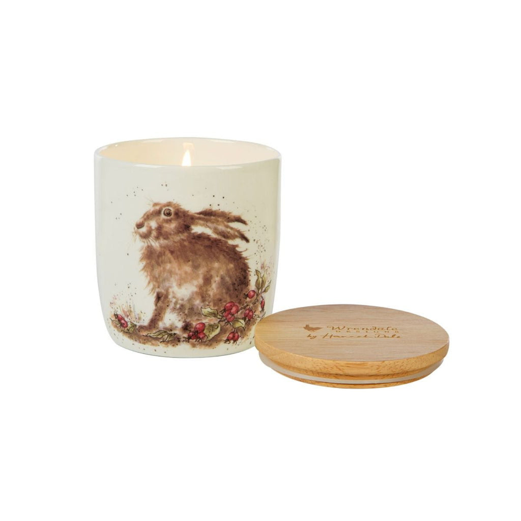 Wrendale Designs - Wax Lyrical Hedgerow Hare Candle Jar
