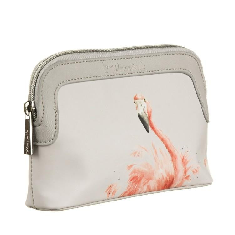 Wrendale Designs Small 'Pink Lady' Flamingo Cosmetic Bag