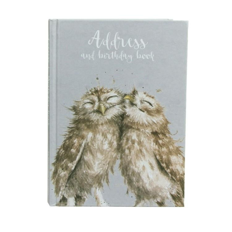 Wrendale Designs - Owl Address & Birthday Book - Hothouse