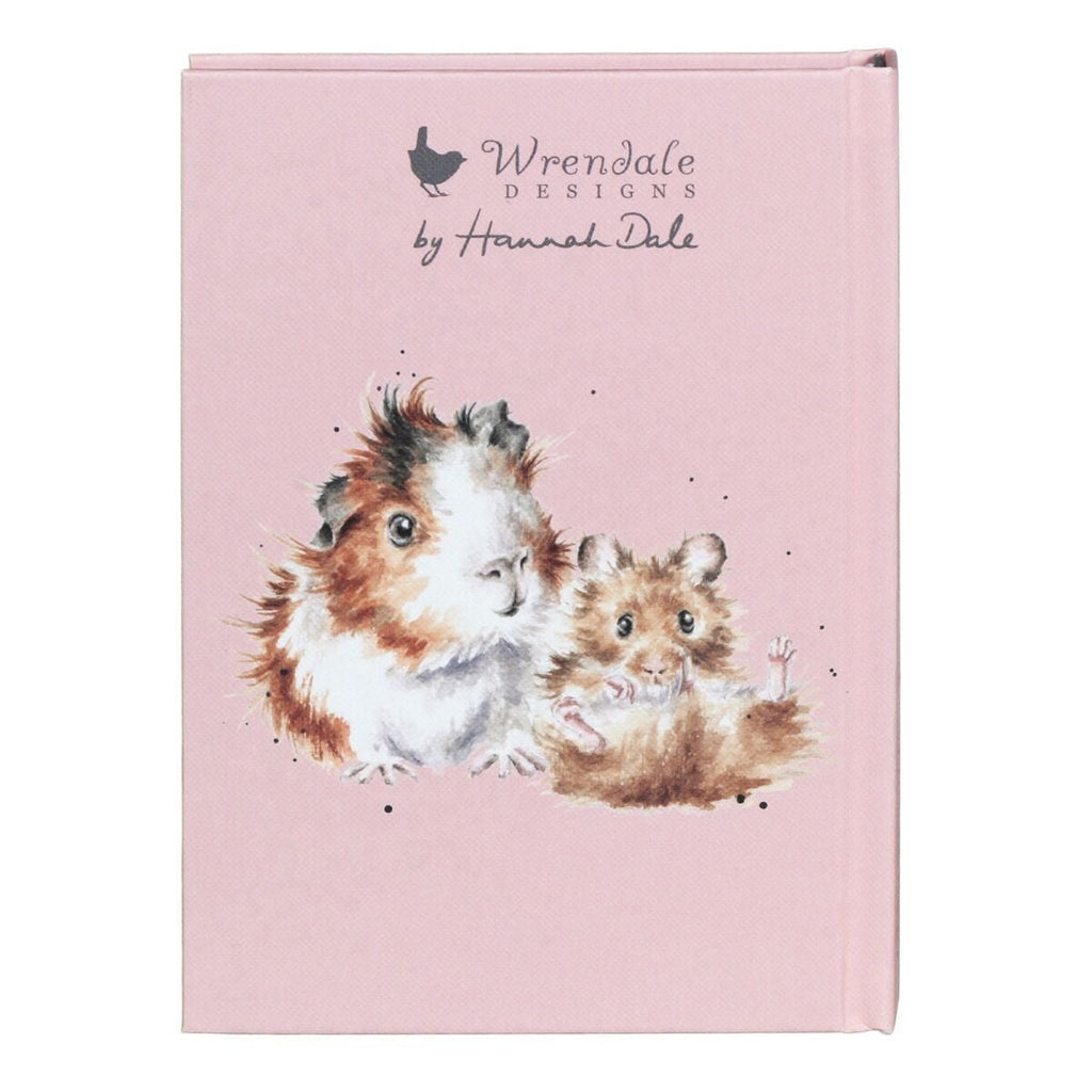 Wrendale Designs 'Piggy in the Middle' Hamster, Guinea Pig, & Rabbit Address Book - Hothouse