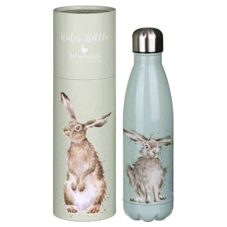 Wrendale Designs - 'Hare and the Bee' Hare Water Bottle - Hothouse