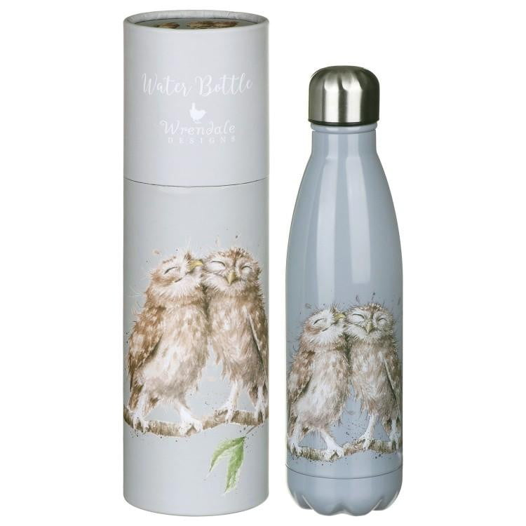 Wrendale Designs 'Birds of a Feather' Owl Water Bottle