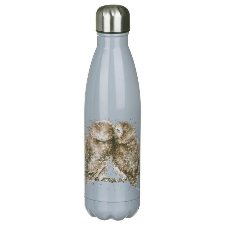 Wrendale Designs 'Birds of a Feather' Owl Water Bottle - Hothouse