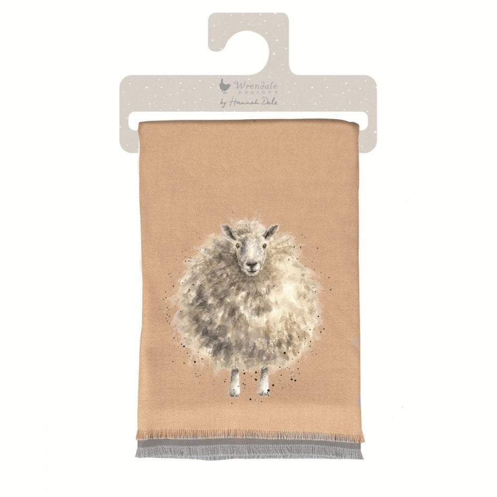 Wrendale 'The Woolly Jumper' Sheep Winter Scarf with Gift Bag