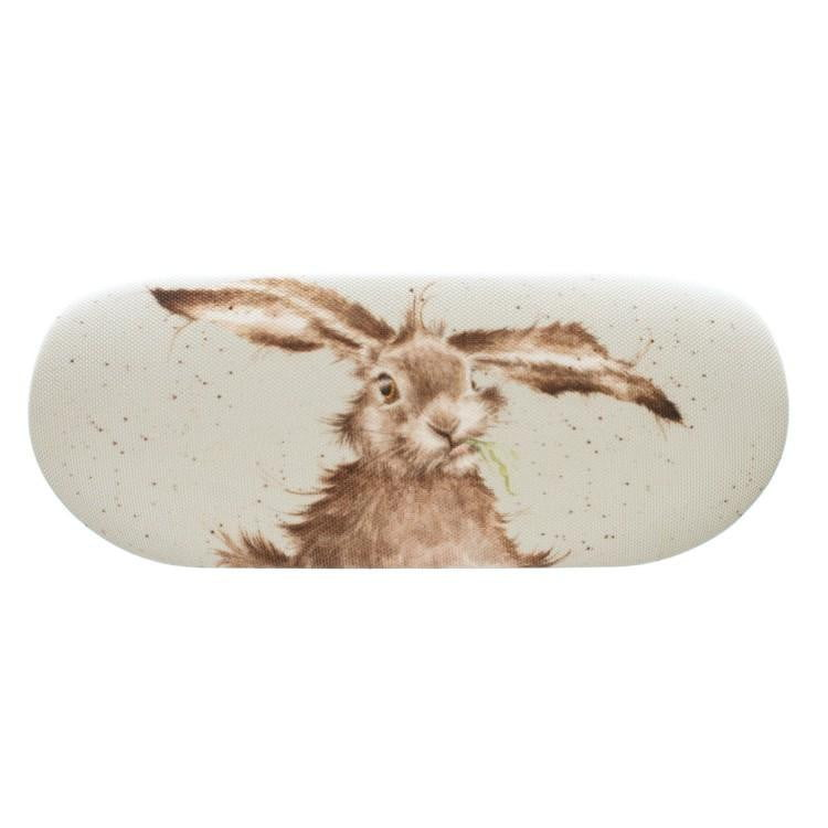 Wrendale Designs 'Hare-Brained' Hare Glasses Case - Hothouse