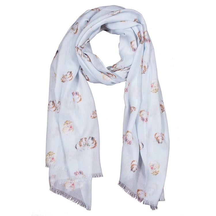 Wrendale Designs - 'Lettuce be Friends' Guinea Pig Scarf - Hothouse