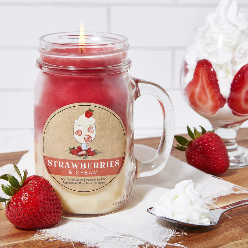 Strawberries & Cream Essentials® Candle