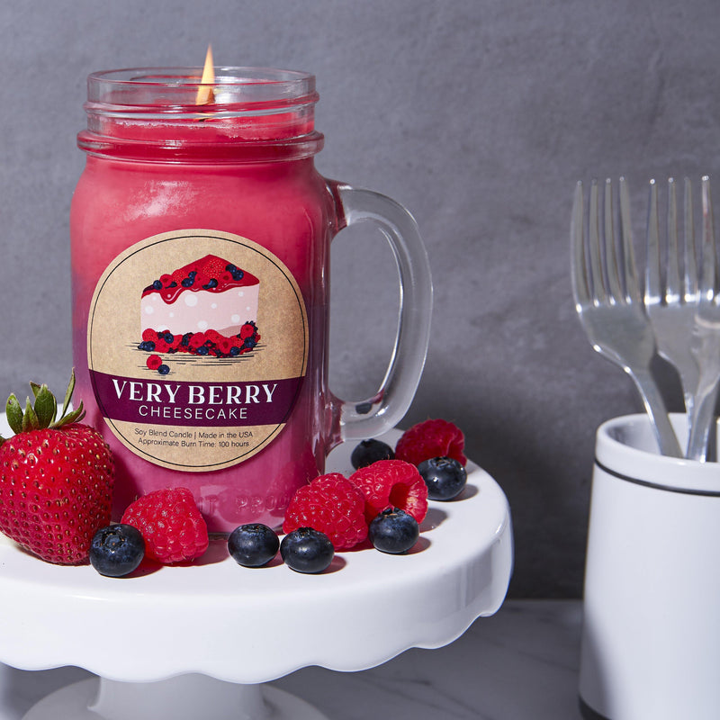 Very Berry Cheesecake Essentials® Candle