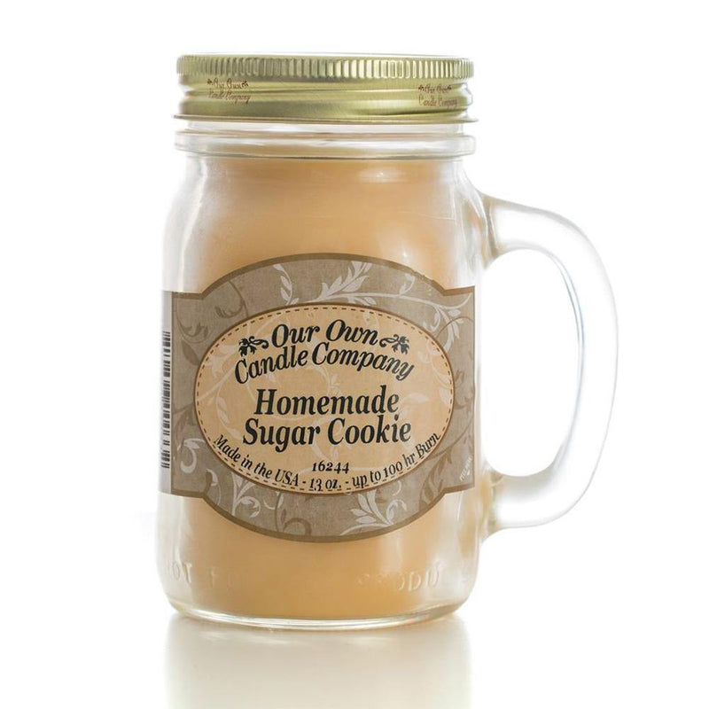Homemade Sugar Cookie Classic Large Mason - Our Own Candle Company NI