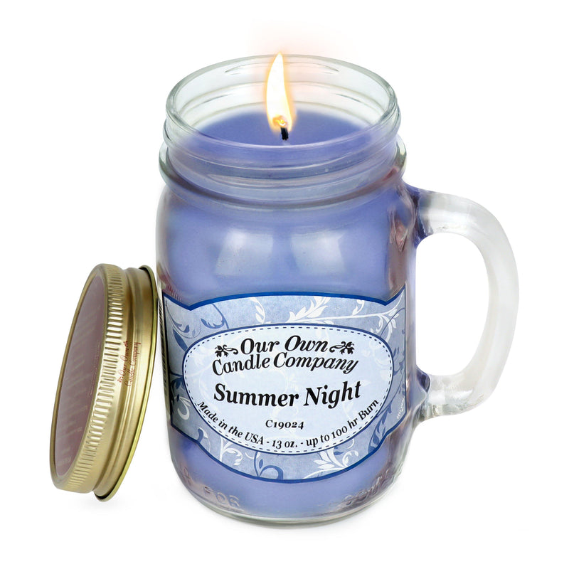 Summer Night Classic Large Mason - Our Own Candle Company NI