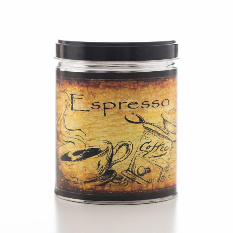 Coffee Espresso Tin Candle