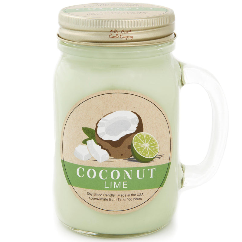 Coconut Lime Essentials® Candle - Our Own Candle Company NI
