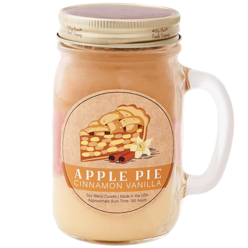 Apple Pie Cinnamon Vanilla Essentials® Candle - Our Own Candle Company NI