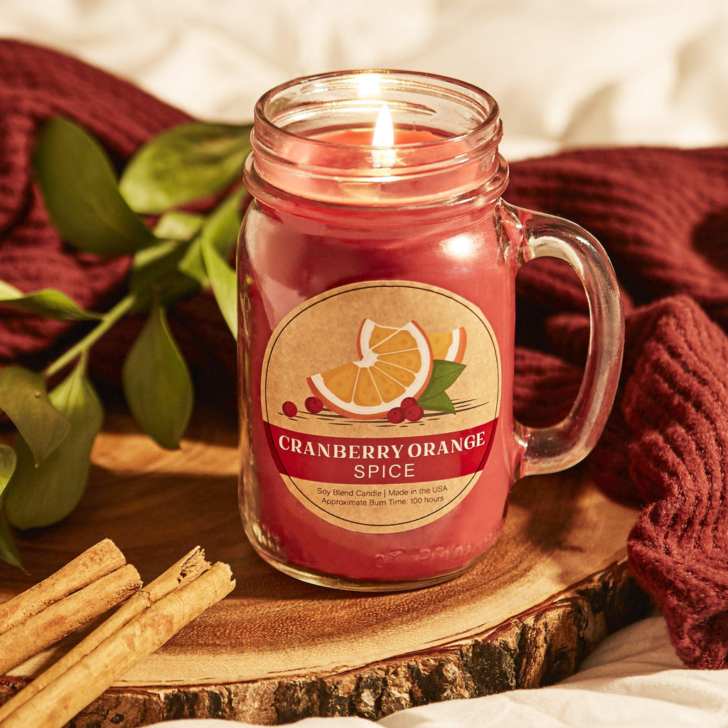 Cranberry Orange Essentials® Candle