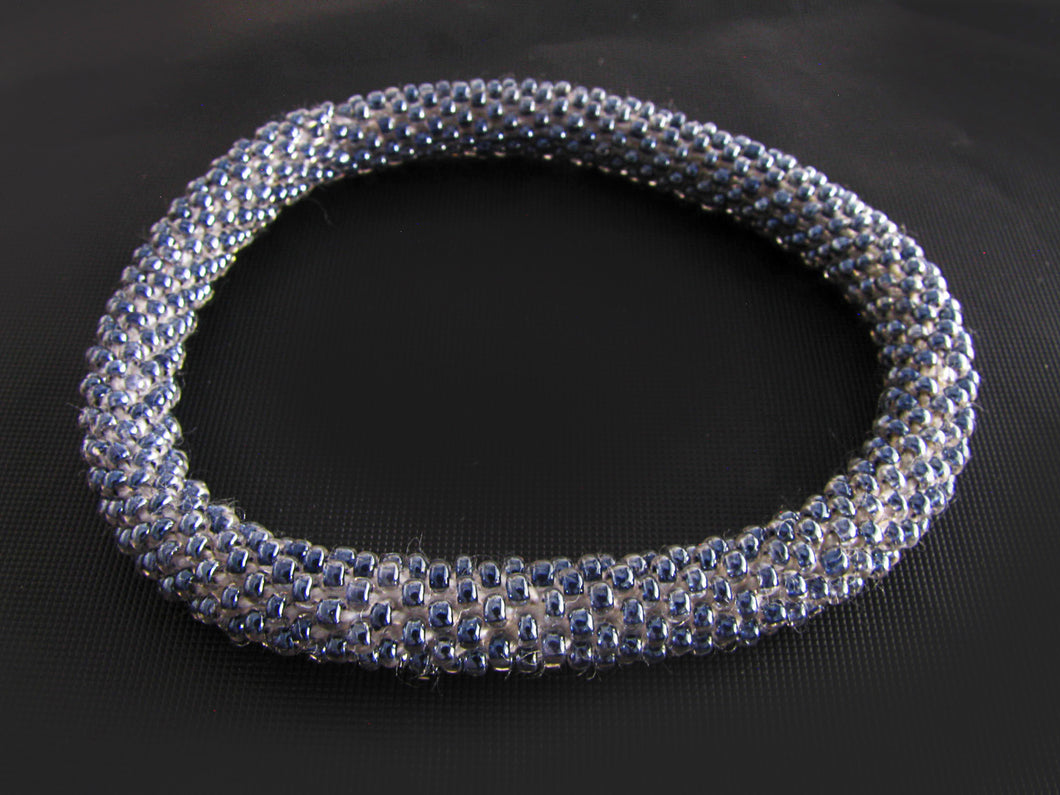 Grey Roll-On Bracelet