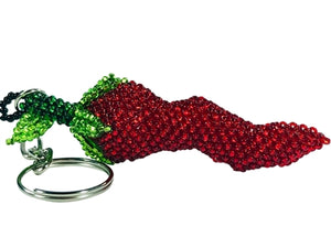 Chili Pepper Key Chain l Backpack Charm