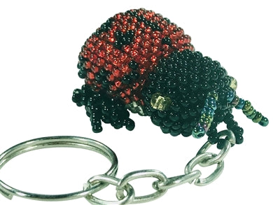 Lady Bug Key Chain l Backpack Charm