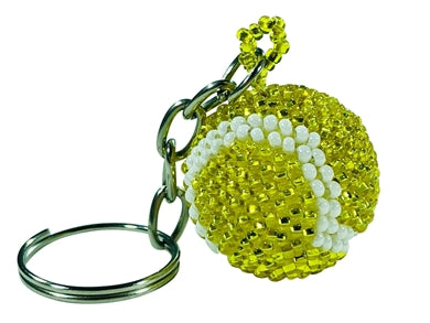Tennis Ball Key Chain l Backpack Charm