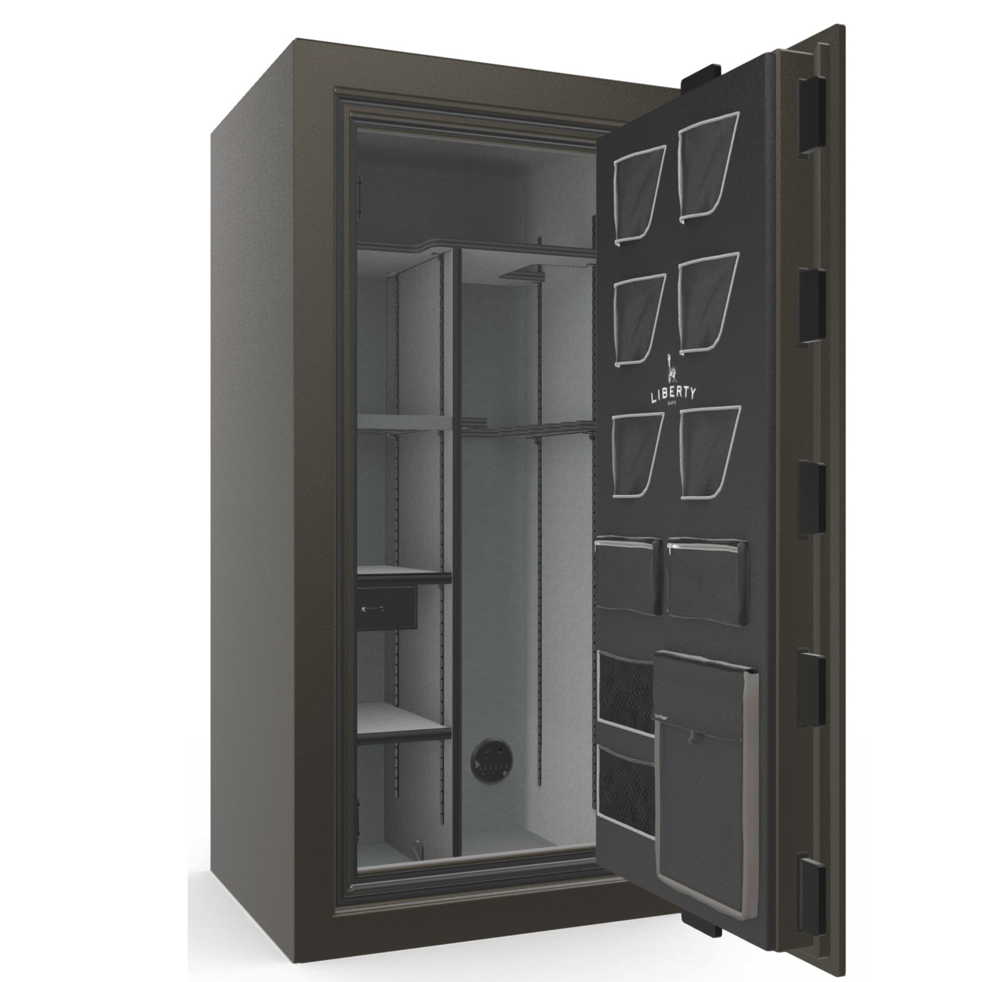 "Classic Plus Series | Level 7 Security | 110 Minute Fire Protection | 25 | DIMENSIONS: 60.5""(H) X 30""(W) X 28.5""(D) 