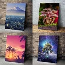 Load image into Gallery viewer, Custom Photo Canvas Prints Portrait