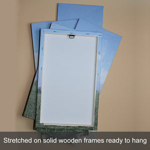 3 Piece Split Canvas Prints Square In Portrait