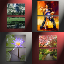 Load image into Gallery viewer, 2 Piece Split Canvas Prints Portrait