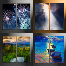 Load image into Gallery viewer, 2 Piece Split Canvas Prints Vertical
