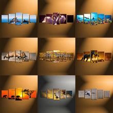 Load image into Gallery viewer, 5 Piece Split Canvas Prints Medium