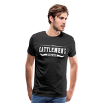 Load image into Gallery viewer, Cattlemen's Coffee Tee - black