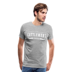 Load image into Gallery viewer, Cattlemen's Coffee Tee - heather gray