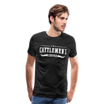 Load image into Gallery viewer, Cattlemen's Coffee Tee - charcoal gray