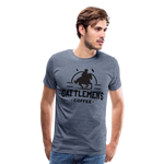 Load image into Gallery viewer, Classic Cattlemen's Tee - heather blue