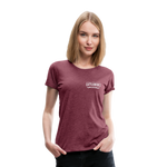 Load image into Gallery viewer, No Coffee No Talkie Tee - heather burgundy