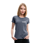Load image into Gallery viewer, No Coffee No Talkie Tee - heather blue