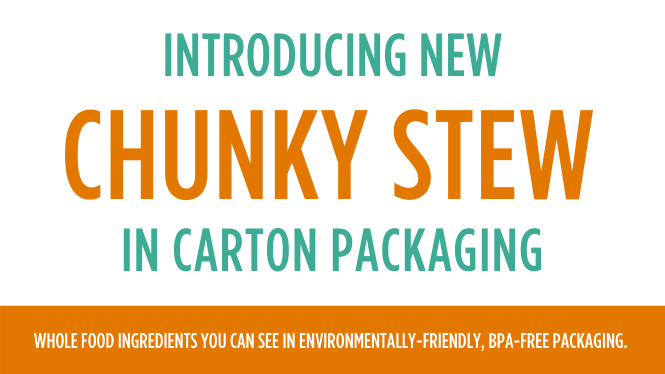 INTRODUCING THE NEW CHUNKY STEW GROWTH/SENSITIVE-GI FOR PUPPIES AND DOGS!