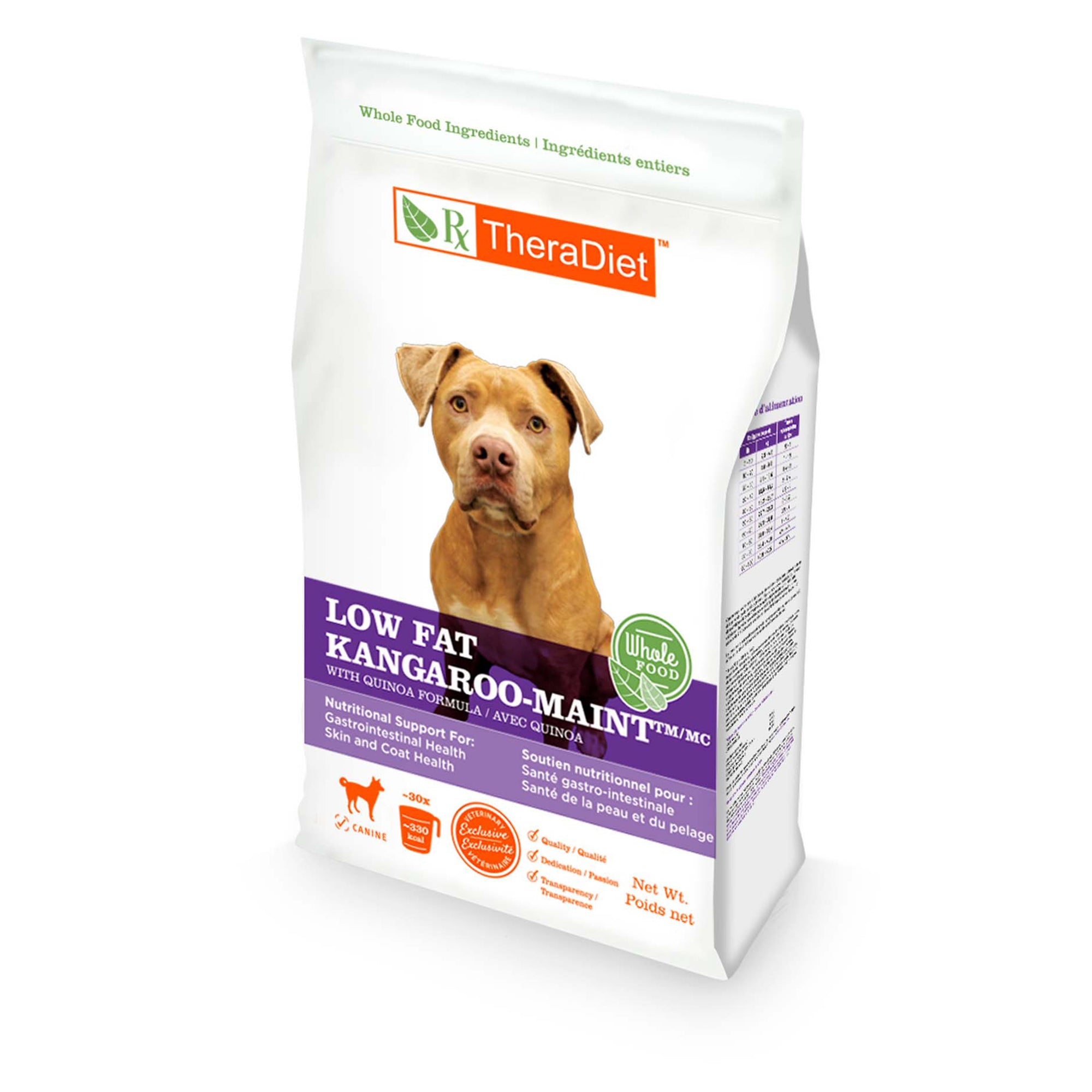 Low Fat Kangaroo-MAINT with Quinoa Canine Bag