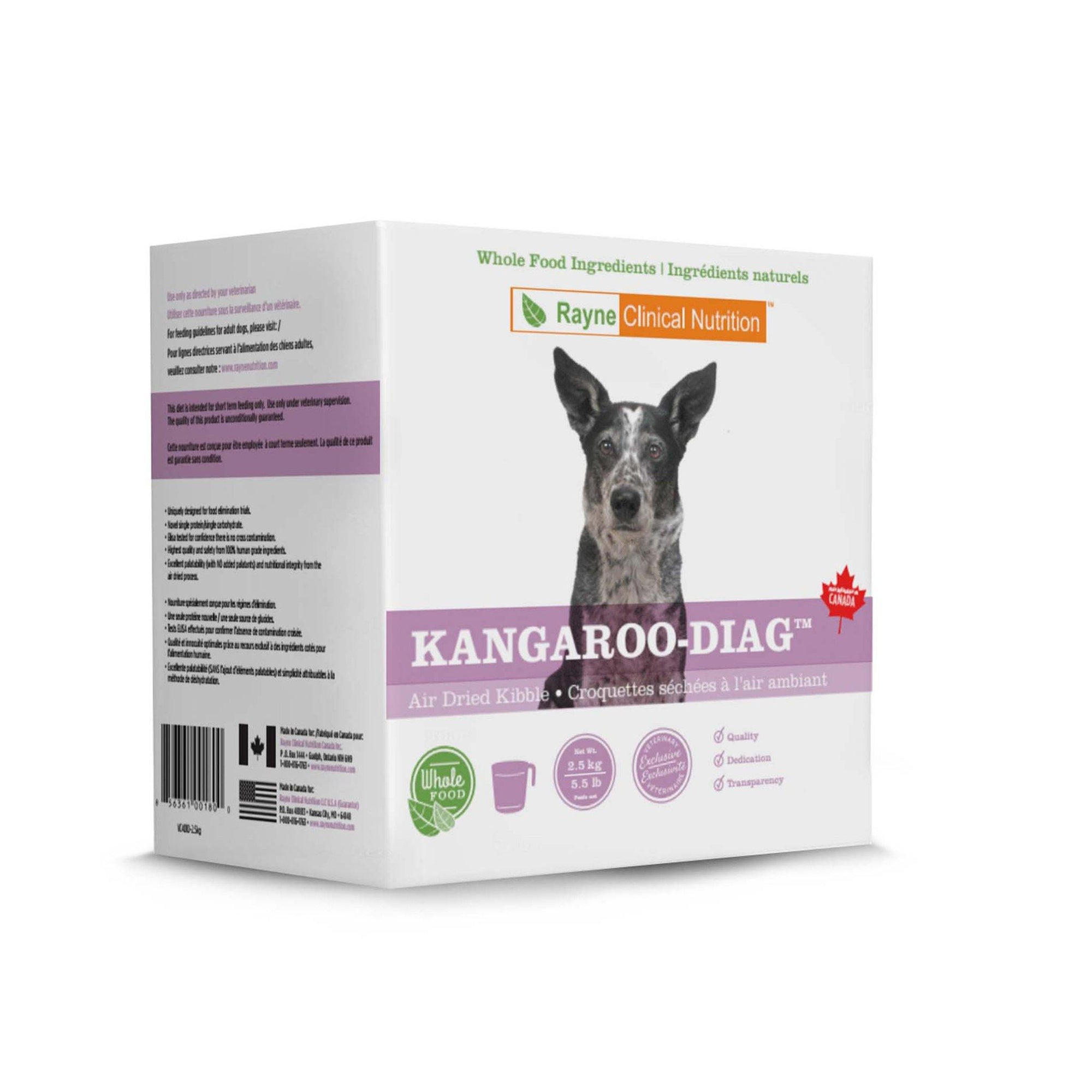 Kangaroo-DIAG Canine Air-Dried